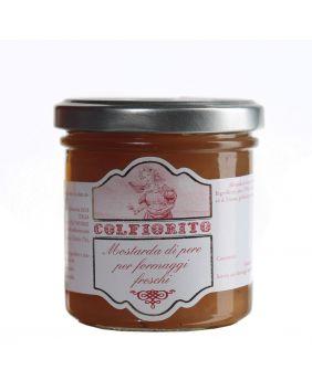 Sauce Moutarde à la poire Colfiorito