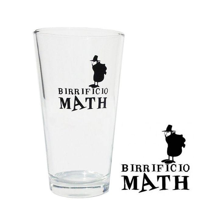 Verres à bière Birrificio Math (6 x 25 cl)