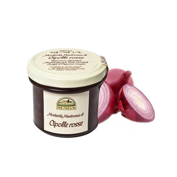 Moutarde d'oignon rouge Agricola Senga 120 g