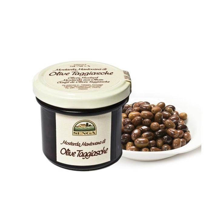 Moutarde d'olive taggiasche Agricola Senga 120 g