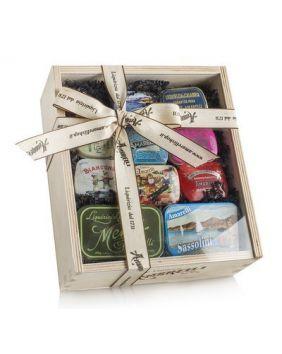 Coffret collector chocolat réglisse Amarelli