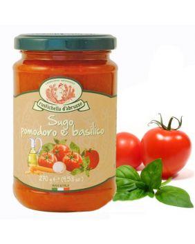 Sauce tomate au basilic Rustichella