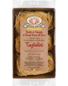 Tagliolini de qualité supérieure aux œufs 250 g Rustichella