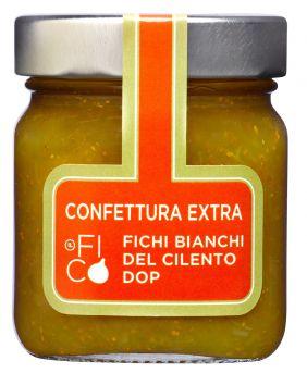 Confiture extra de figue blanche du Cilento DOP Il Fico 250 g