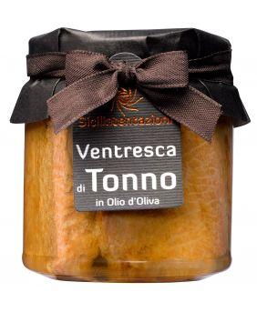 Ventrèche de thon à l'huile d'olive Sicilia Tentazioni