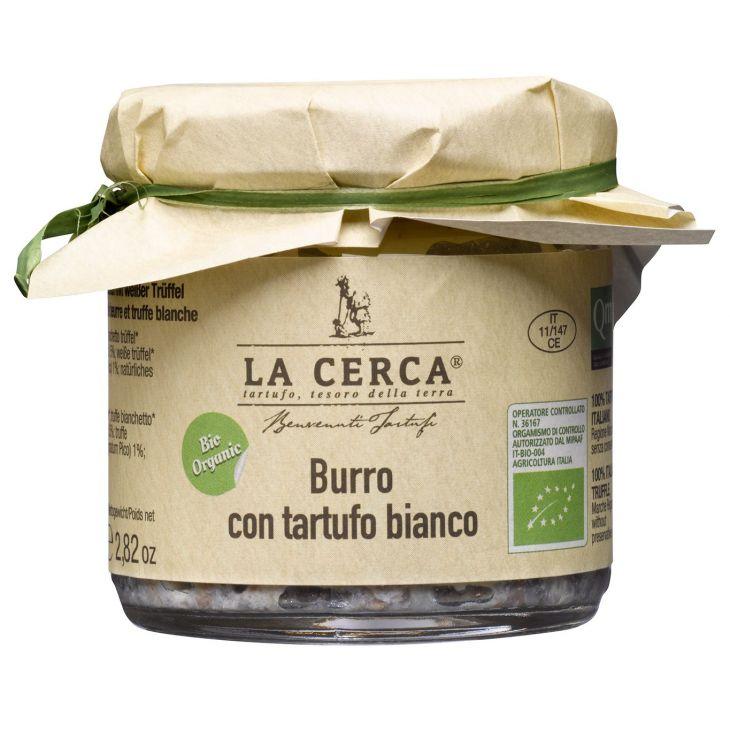 Beurre de truffe blanche BIO La Cerca 80 g
