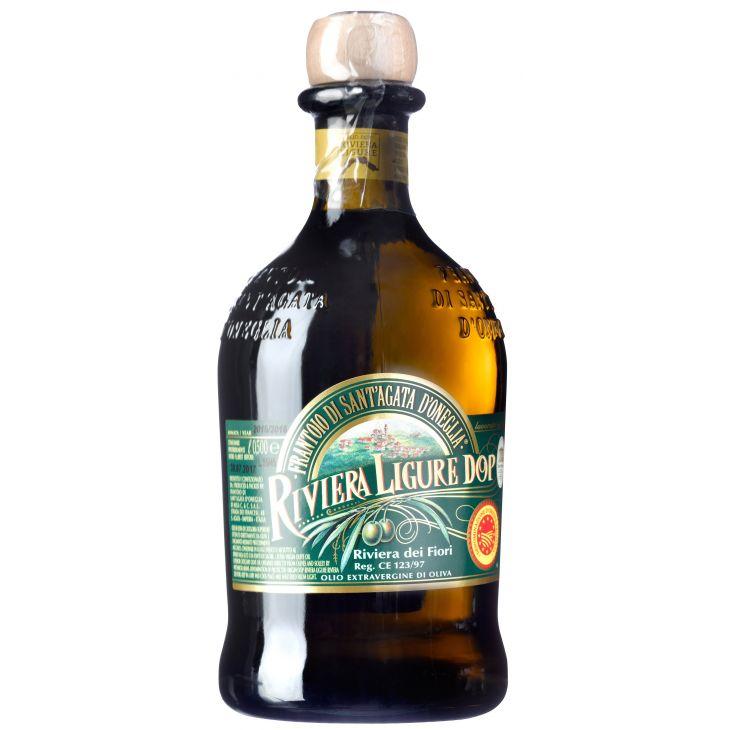 Huile d'olive extra vierge DOP de Ligurie