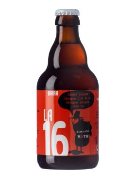 Bière artisanale ambrée de 33cl La 16