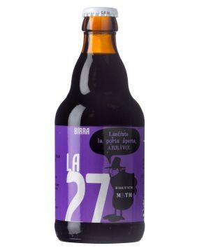 Bière artisanale brune de 33 cl La 27
