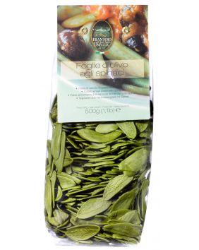 Feuille d'olivier aux épinards Sant'Agata 500 g
