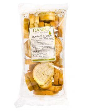 Bruschette artisanale aromatisée à l'origan Danieli