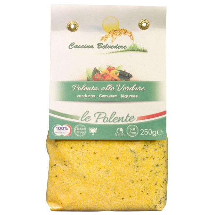 Polenta aux légumes Cascina Belvedere 250 g