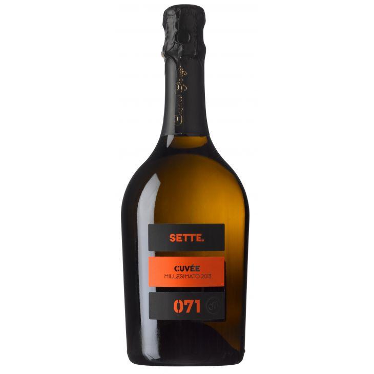 Spumante extra dry Sette 071 Sacchetto