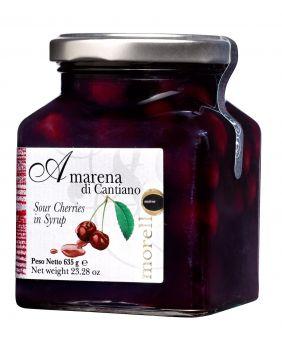 Cerises griottes au sirop Amarena di Cantiano 335 g Morello