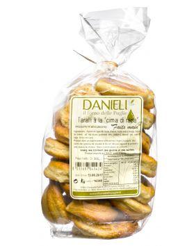 Taralli artisanaux alla cima di rapa Danieli