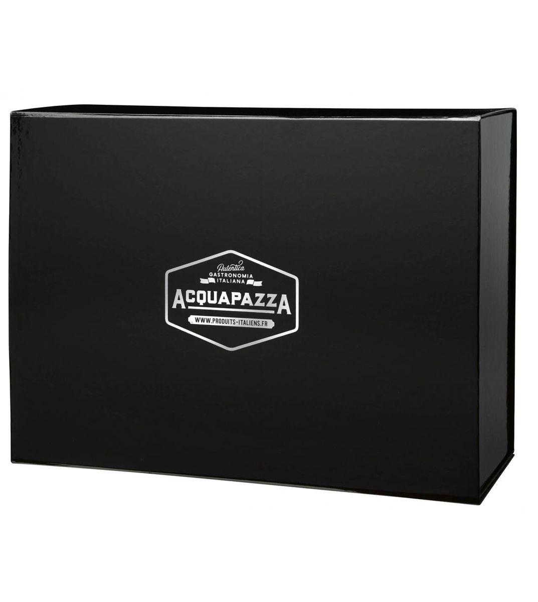 grande bo te cadeau acquapazza 30x40x15. Black Bedroom Furniture Sets. Home Design Ideas