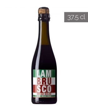 Lambrusco rouge doux 37,5 cl Ca' de Medici