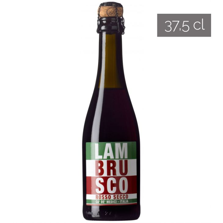 LAMBRUSCO ROUGE SEC CA DE MEDICI 37.5 CL