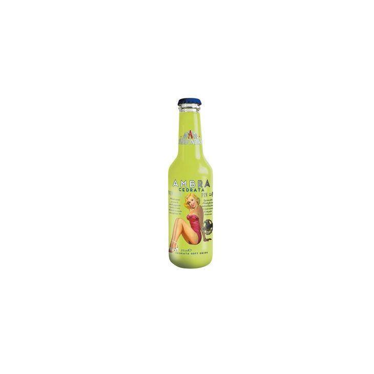 Soda au cédrat Ambra 27.5 cl Abbondio