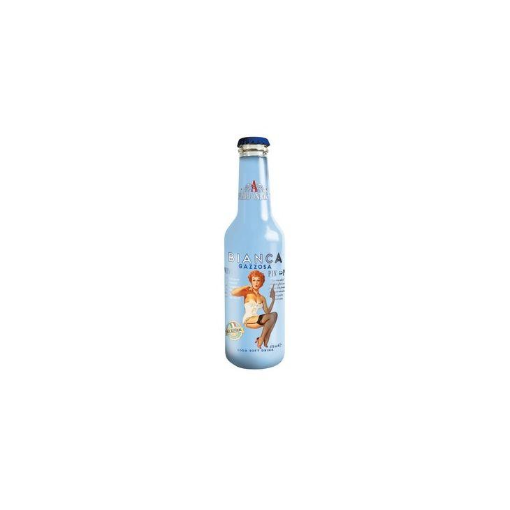 Soda limonade gazzosa Bianca 27.5 cl Abbondio