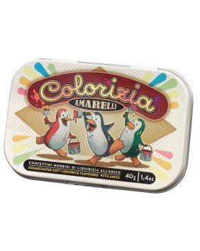 Réglisses enrobées de chocolat Amarelli 40 g
