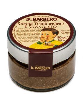 Crème de nougat au chocolat Barbero
