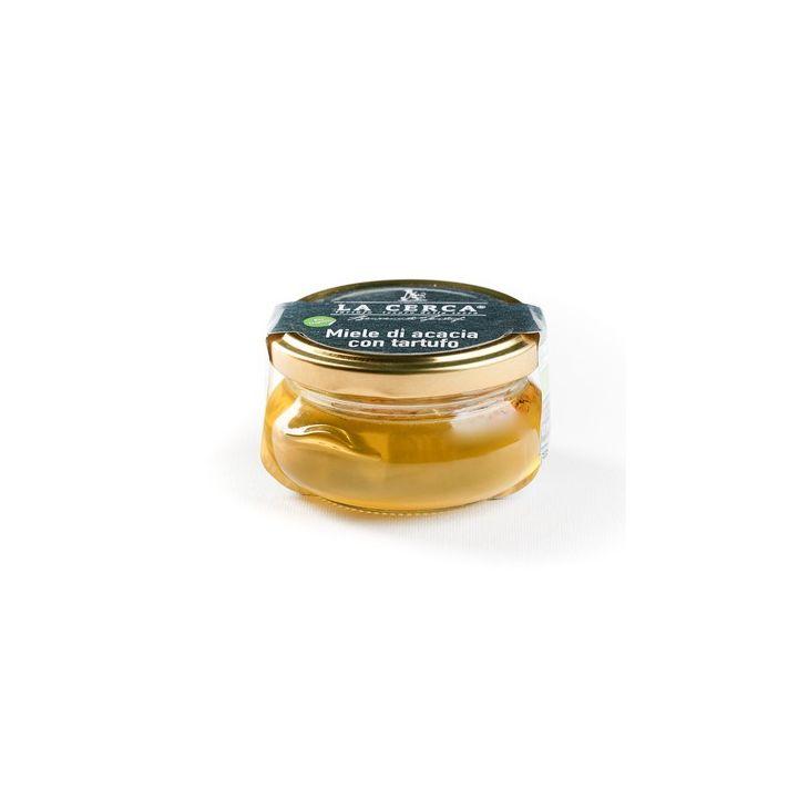 Miel d'acacia à la truffe d'été 100 g La Cerca
