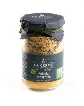 Polenta à la truffe d'été BIO 200 g La Cerca