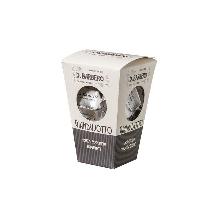 Giandujotti sans sucre ajouté 150 g Barbero