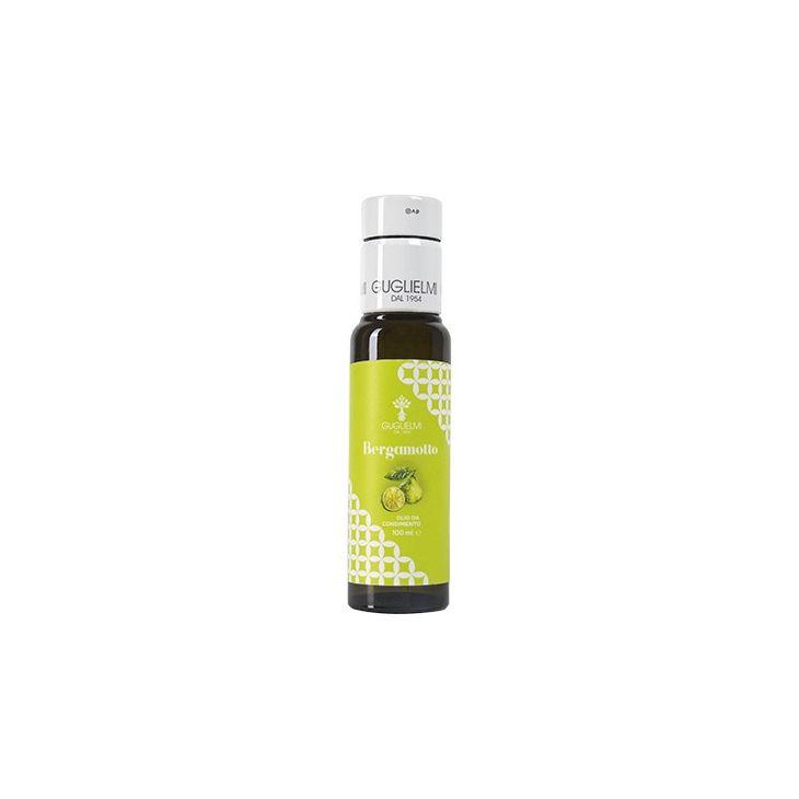 Huile d'olive extra vierge bergamote Guglielmi 10 cl