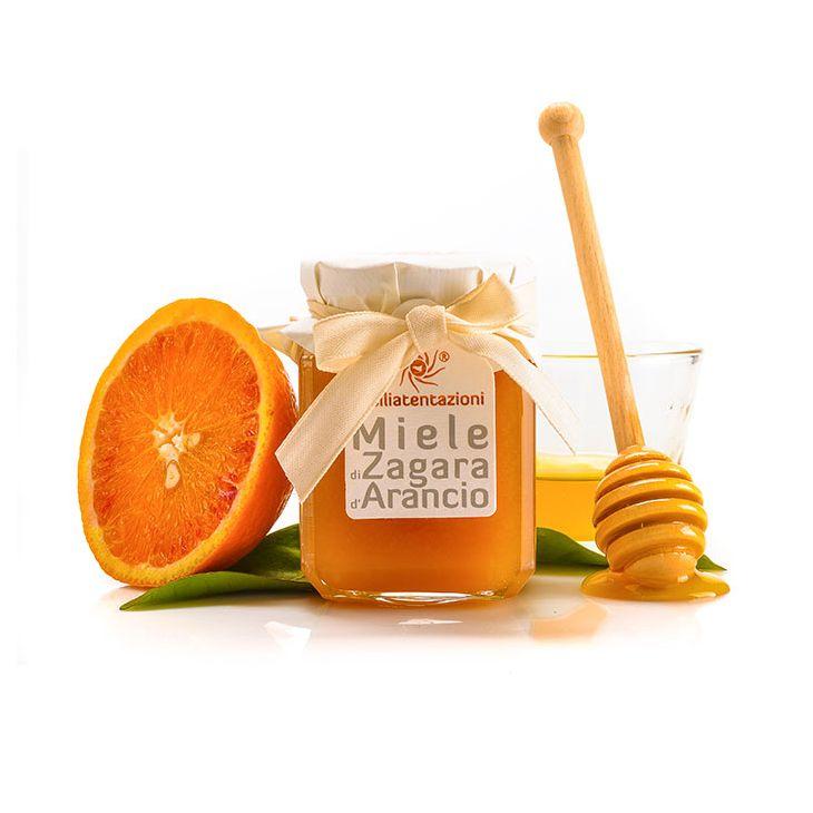 Miel de fleurs d'orangers de Sicile