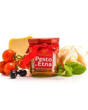 Peste de l'Etna (olives noires et champignons)