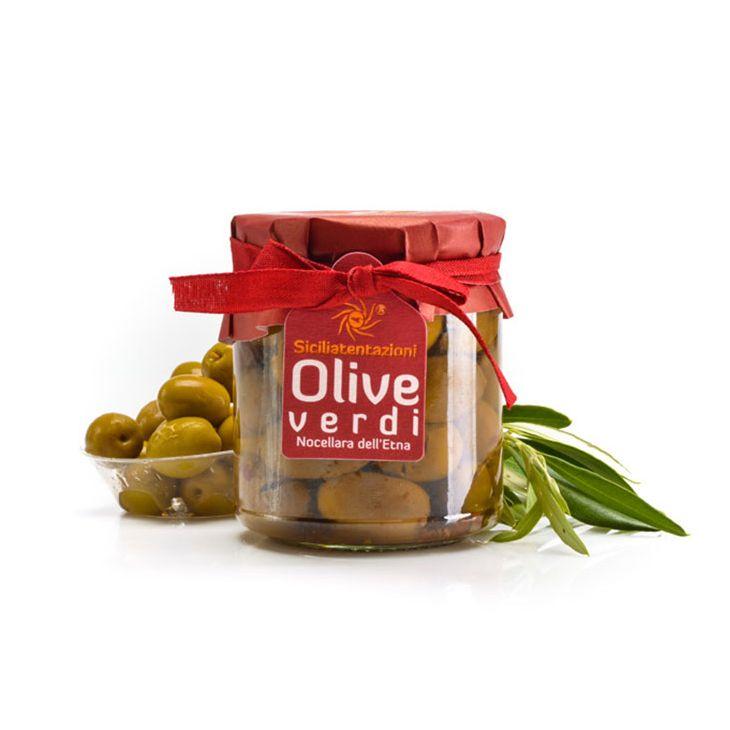Olives vertes Nocellara de Sicile