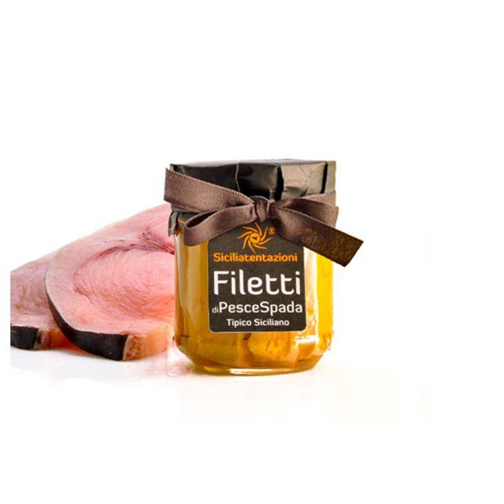 Filets d'espadon à l'huile d'olive Sicilia Tentazioni