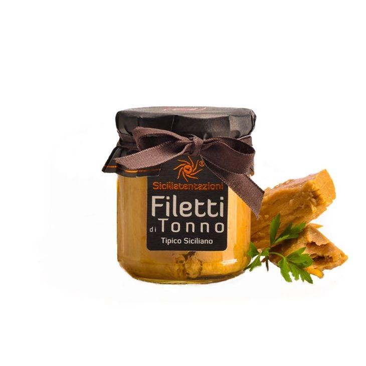 Filets de thon à l'huile d'olive Sicilia Tentazioni