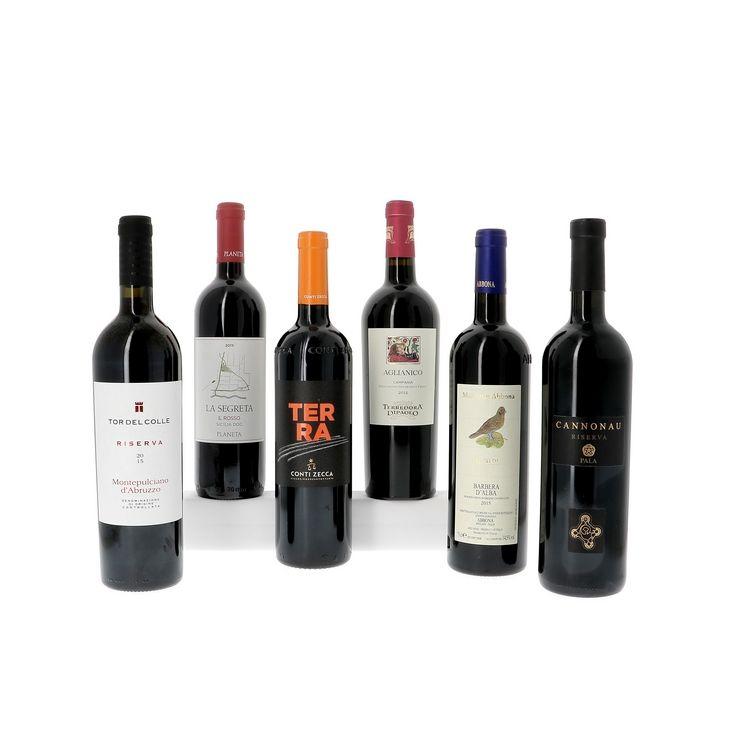 Découverte des vins rouges italiens