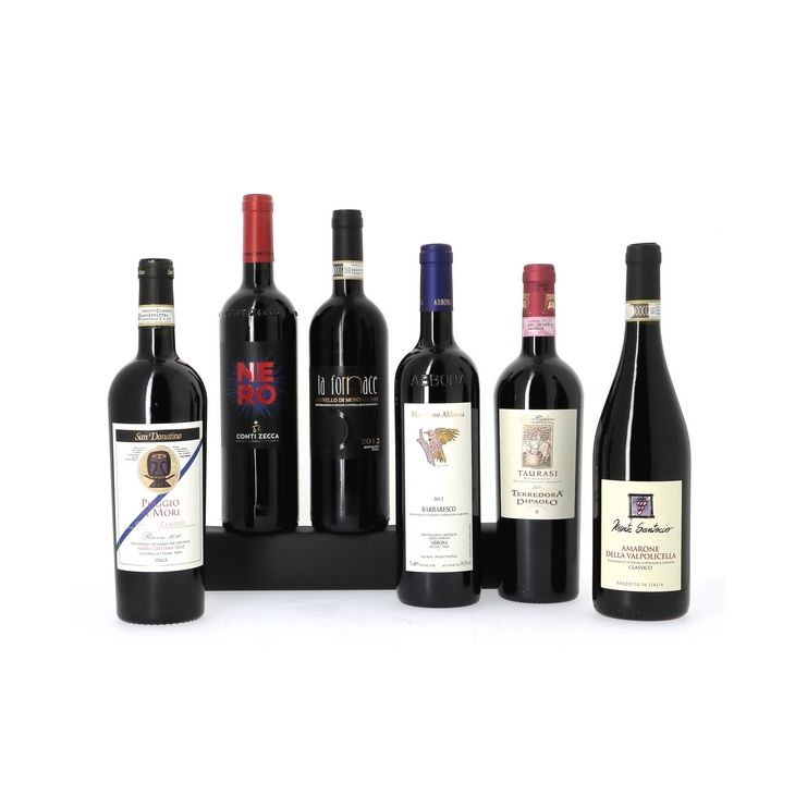 Découverte des grands vins rouges italiens