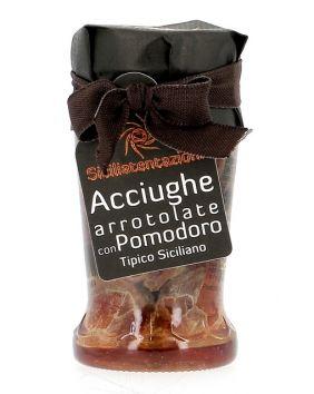 Anchois à la tomate séchée Sicilia Tentazioni 200 g
