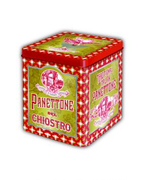 Panettone traditionnel boite métal collector Lazzaroni 500 g