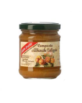 Compote d'abricot Valleggia Dalpian