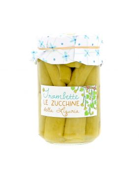 Courgettes Trombettes de Ligurie 310 g La Baita