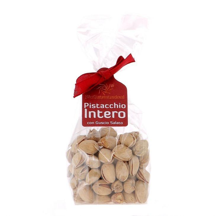 Pistaches de Sicile entières avec la coque Sicilia Tentazioni