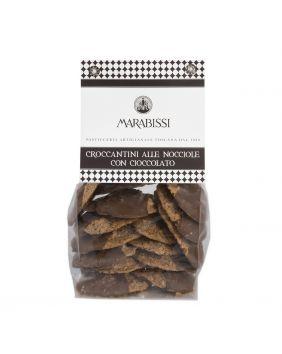 Croquants noisette nappés de chocolat Marabissi 200 g