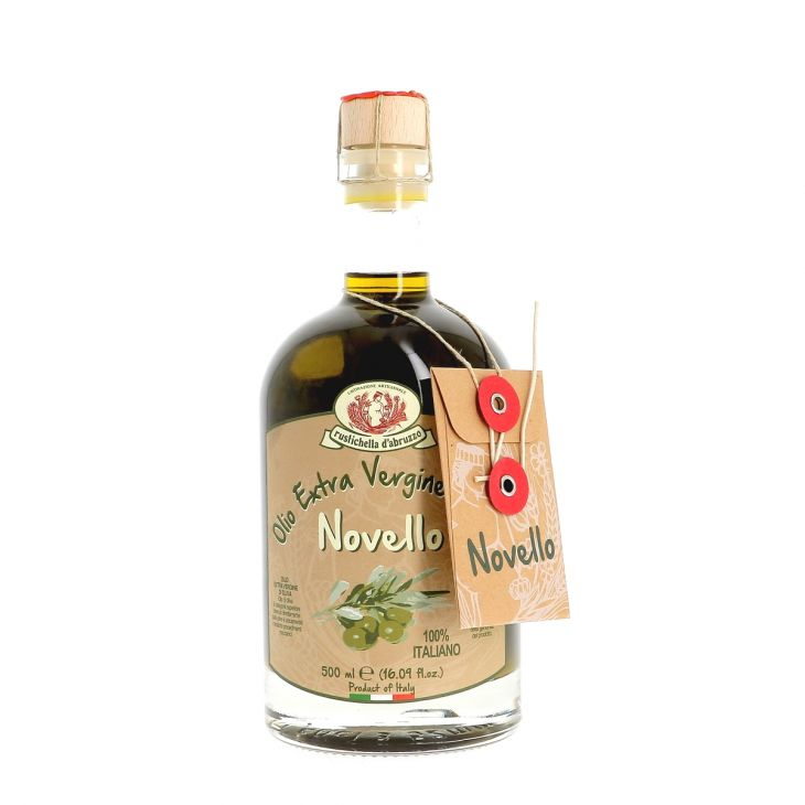 Huile d'olive extra-vierge primeur Rustichella