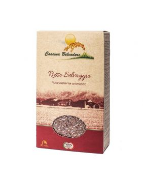 Riz rouge sauvage Cascina Belvedere 500 g