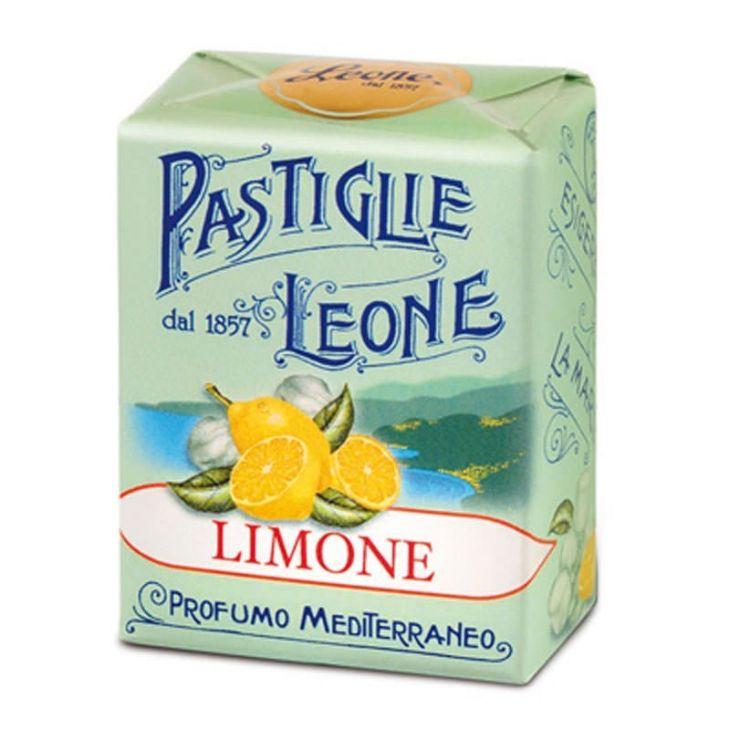 PASTILLES BOÎTE CARTON LEONE CITRON 30 g