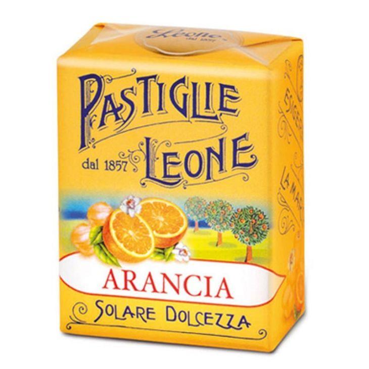 PASTILLES LEONE À L'ORANGE 30 G