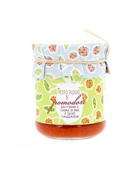 Pesto rosso de tomates de Ligurie 170 g La Baïta
