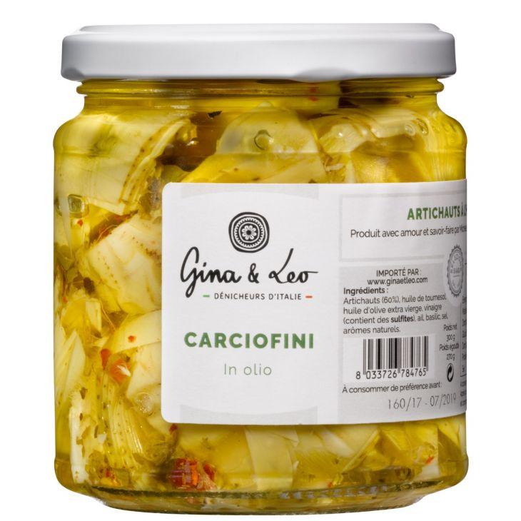 Artichauts à l'huile Gina & Leo