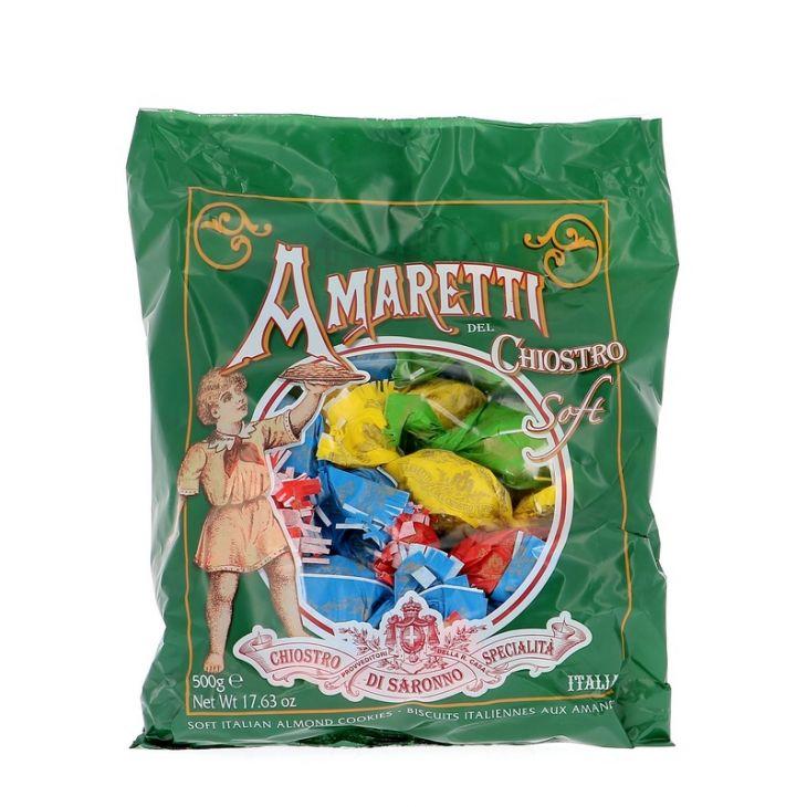 AMARETTI TENDRES LAZZARONI SACHET DE 25 ENV. 500 gr